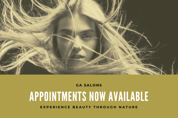 Book your Appointment with GA Salons!